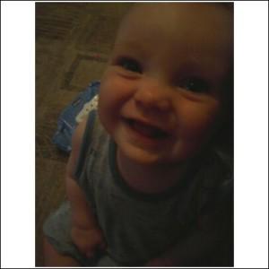 Logan Smiling