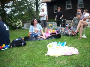 Stephanie's Son, Stephanie, Sophia, Mike, Kris, Katie, Andrew, Michelle, Sydney