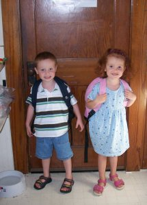 First Day of Pre-School 2008