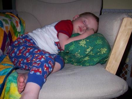 Sleeping Burke