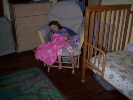 Sleeping Maggie