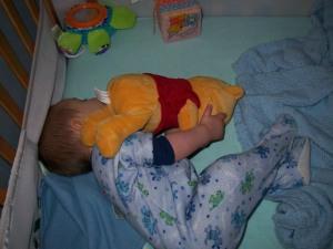 Logan and Pooh