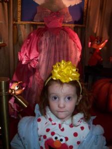 Maggie and Cinderellas Dress