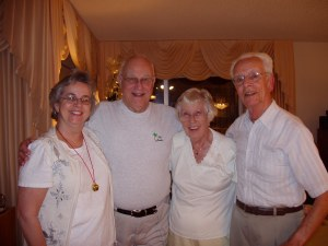 Mom, Joe, Grandma Marge, Grandpa Jim
