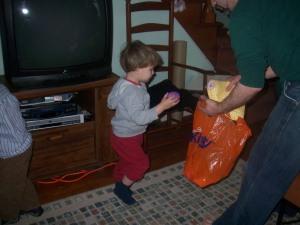 Easter Egg Hunt - Cousin Grey