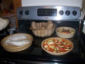 Pork, Potatoes, and Ratatouille