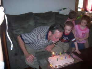 Blowing Out the Candles - with a Little Help
