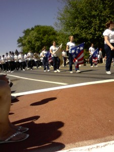 The High School Marching Band