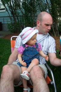 Maggie and Uncle Jason