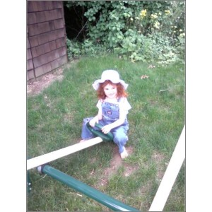 Maggie on the See-Saw