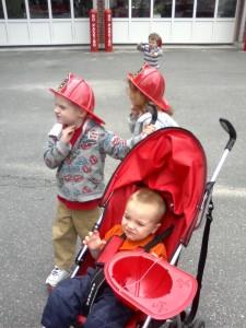 Fire hats!