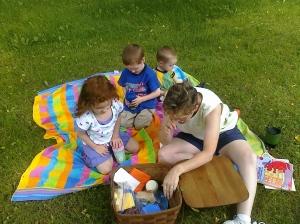 Picnicking with Nana