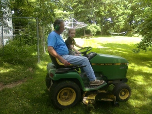 Grandpa and Burke