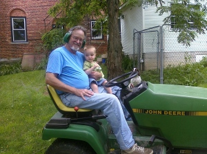 Grandpa and Logan