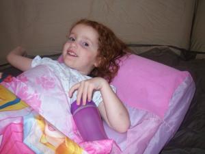 Marjorie camping