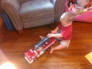 Logan's Fire Truck