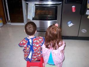 Watching the Cookies Bake