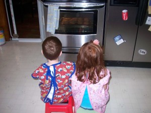 Watching the Cookies Bake